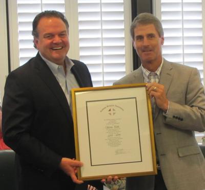 Coosa Valley Medical Center's Glenn Sisk honored