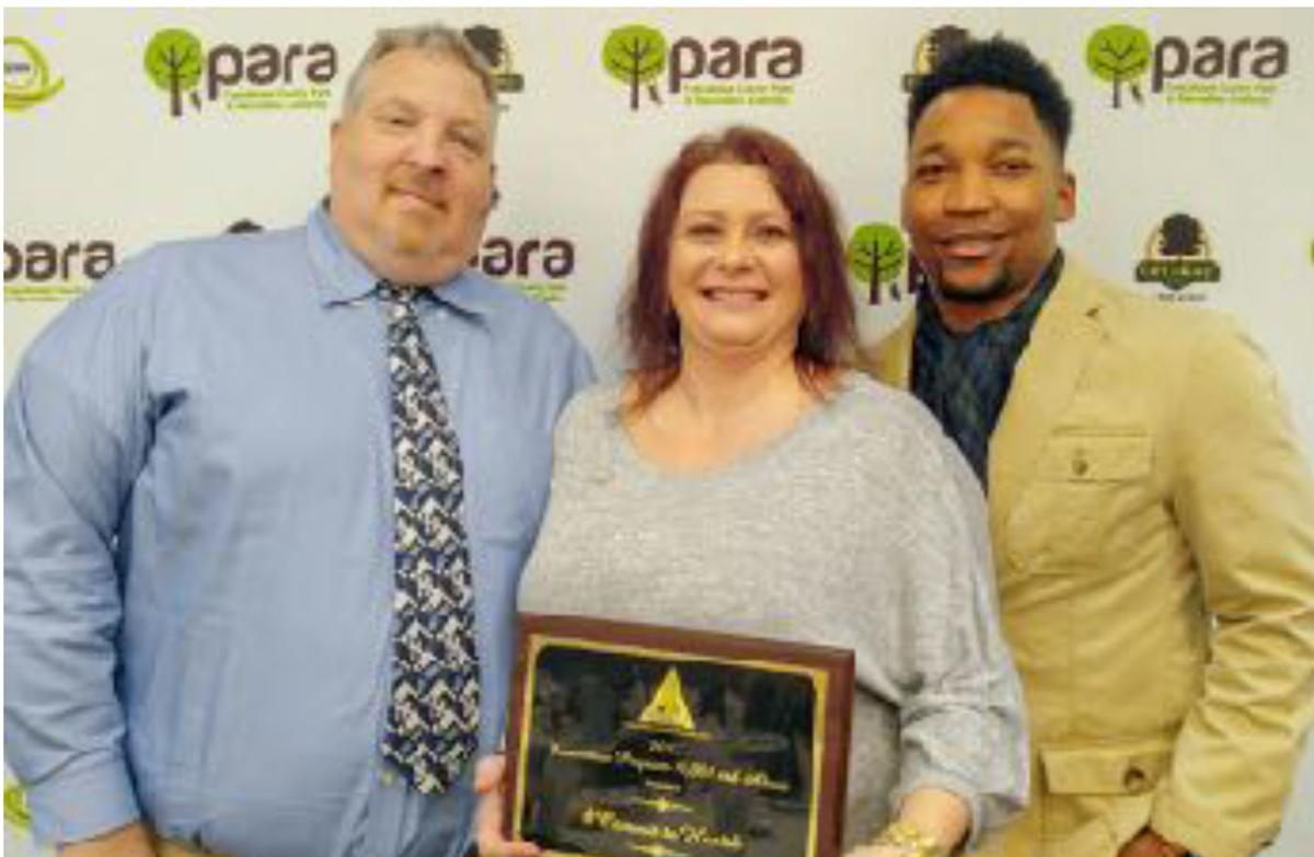 Congrats ... Anniston Parks and Recreation Department received award