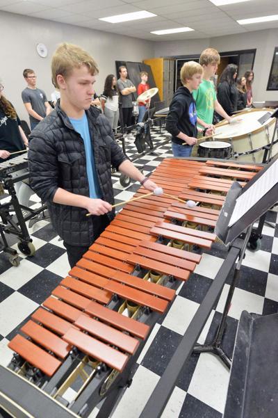 Cleburne marimba