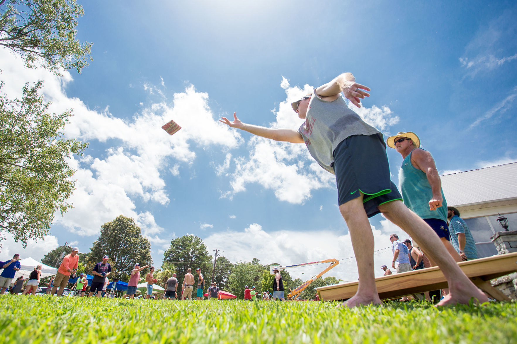 PHOTOS: Hogeland's 7th annual cornhole tournament draws 27 teams