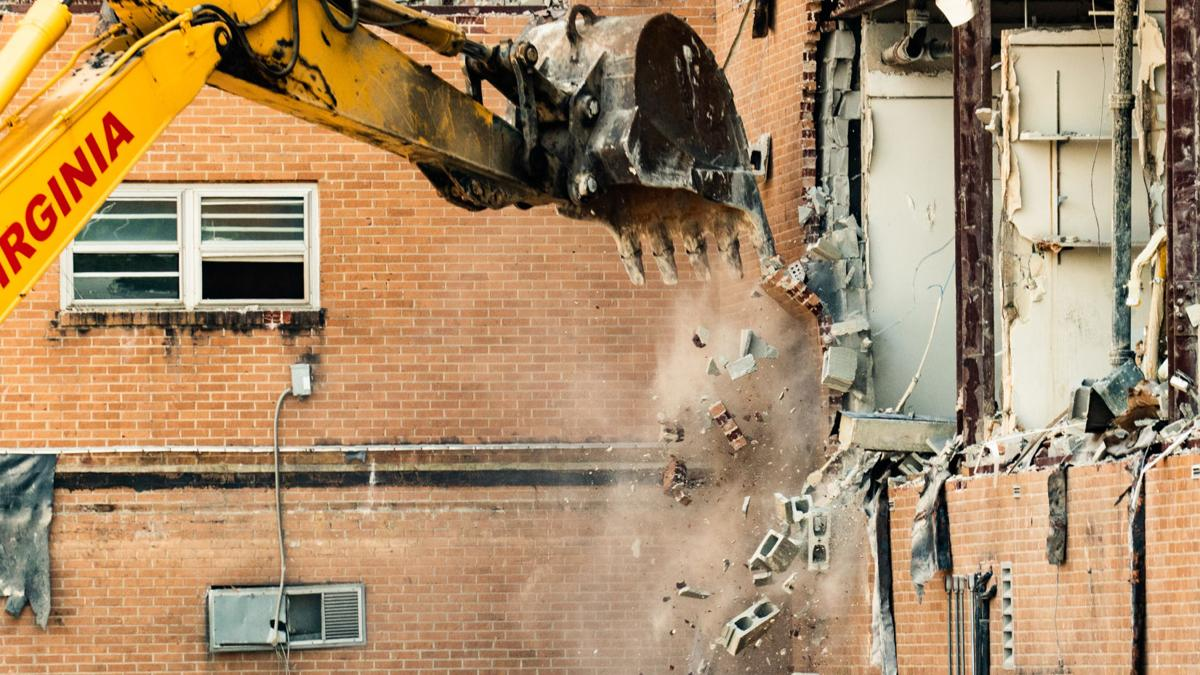 Demolition of former St. Clair County Hospital begins