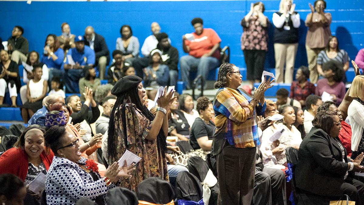 Talladega County Central High hosts Black History Month program (photos)