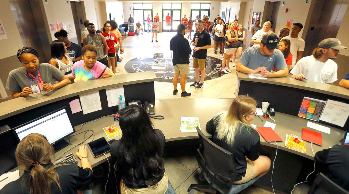 Jacksonville's students return to campus