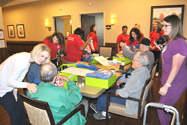 Veterans at Pell City veterans home receive gifts