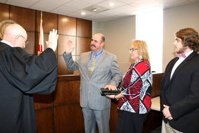 Ricky Parker sworn in as St. Clair commissioner