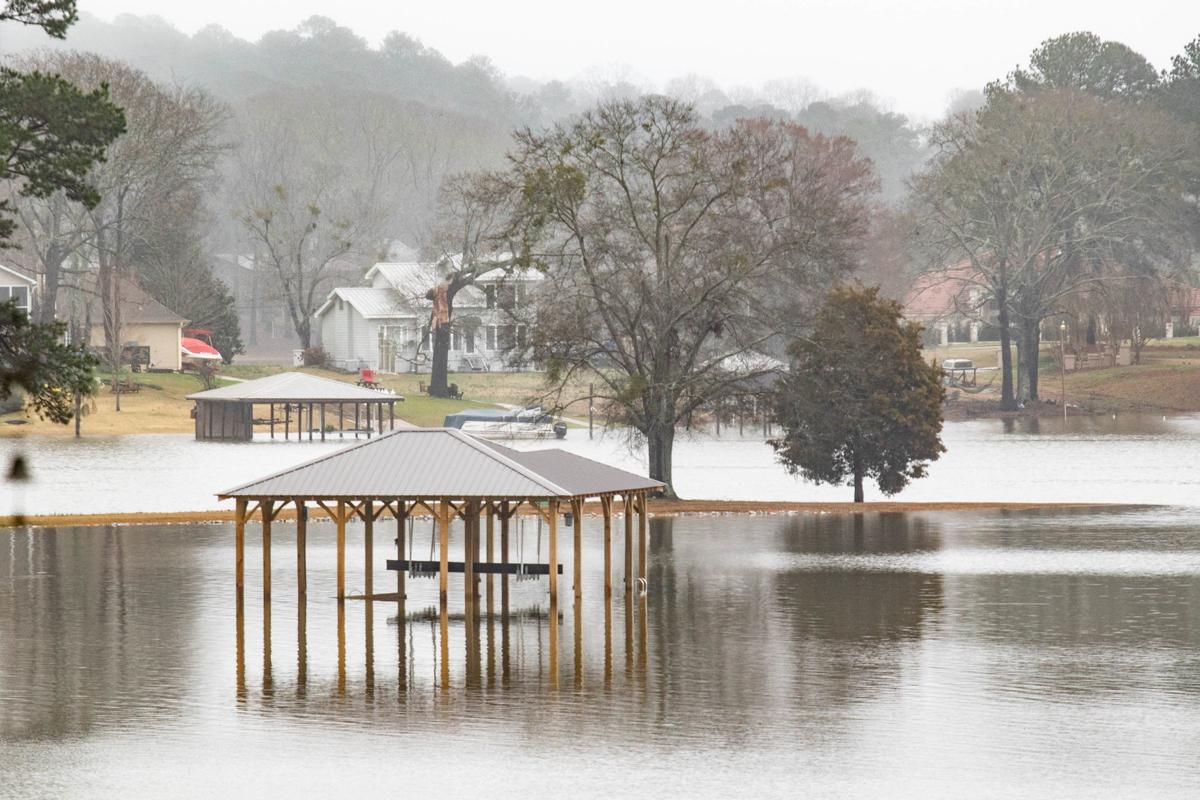Logan Martin Lake already above summer pool, expected to crest early next week around 472 feet above sea level (photo gallery)
