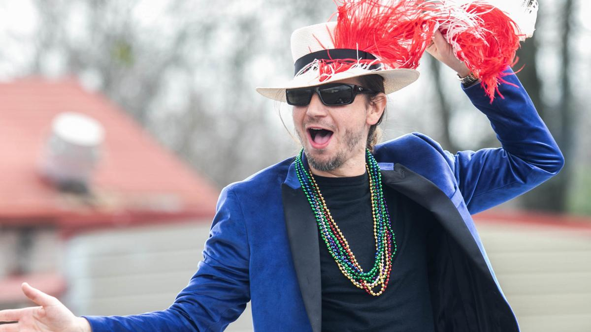 Beads and Moon Pies fly as a good time is had by all at Talladega's annual Mardi Gras Parade (photo gallery)
