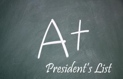 President's List logo