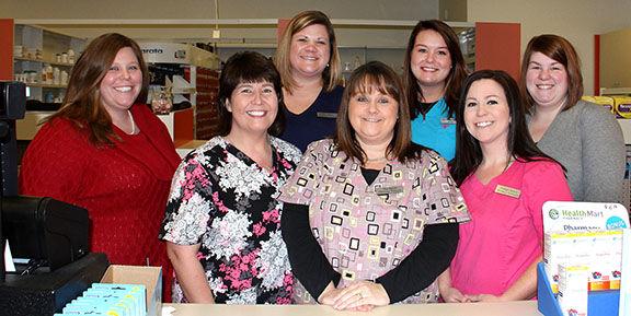 Tina Russell likes her job at Alaco Pharmacy