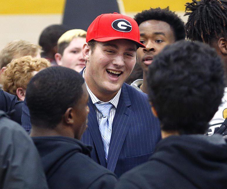Mark Edwards: Teammates make moment brighter for Georgia recruit Webb