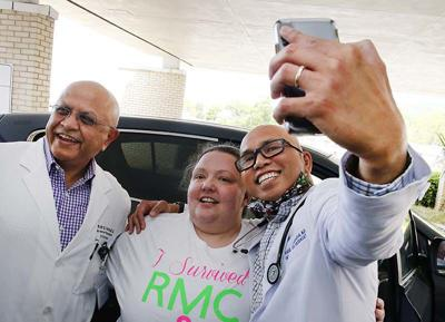 RMC discharges COVID-19 patient after 15 days on ventilator