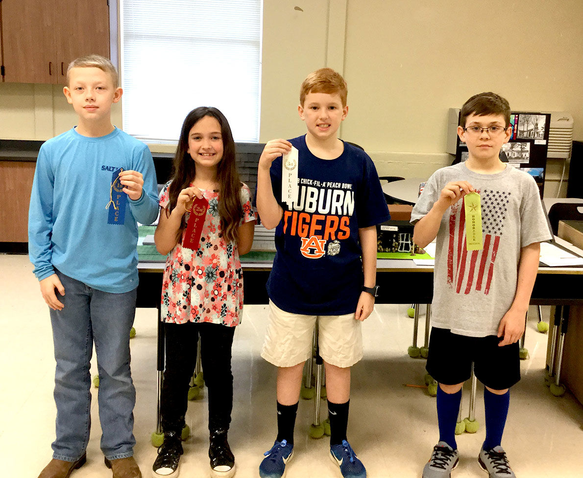 Iola Roberts Elementary School announces History Fair winners