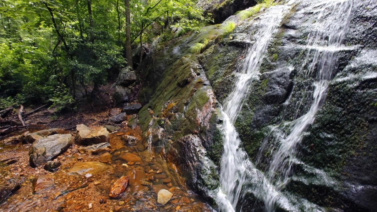 Bain's Gap Waterfall Area