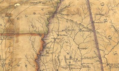 For years after Alabama's statehood, Native Americans held on to sovereignty in the east