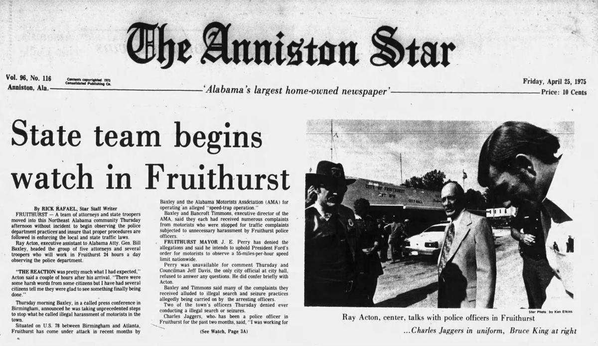 Fruithurst 1975 story