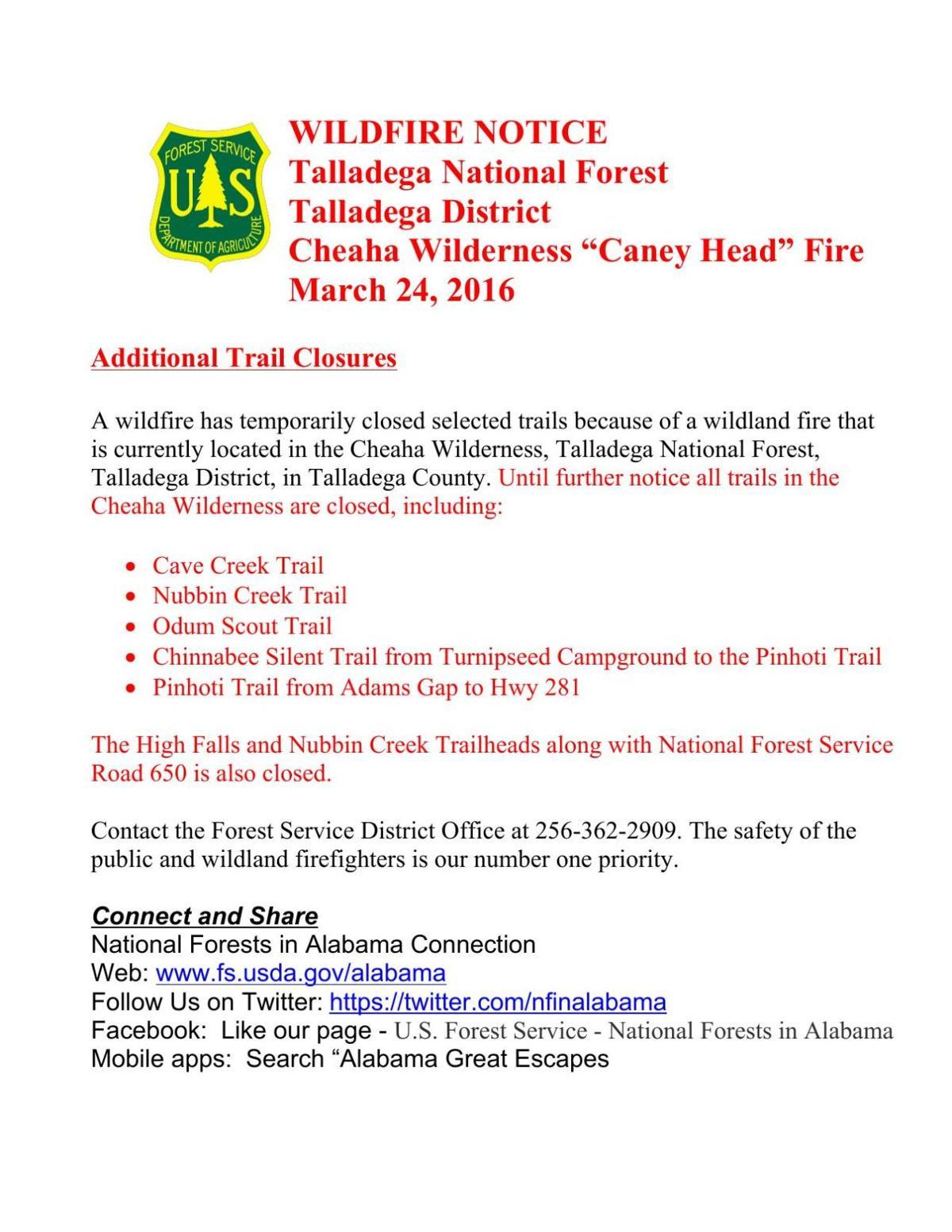 Forest Service notice | | annistonstar com