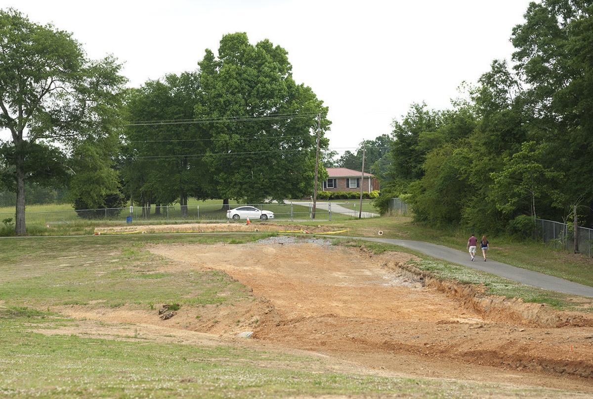 Lakeside park additional entrance construction 2 tw.jpg