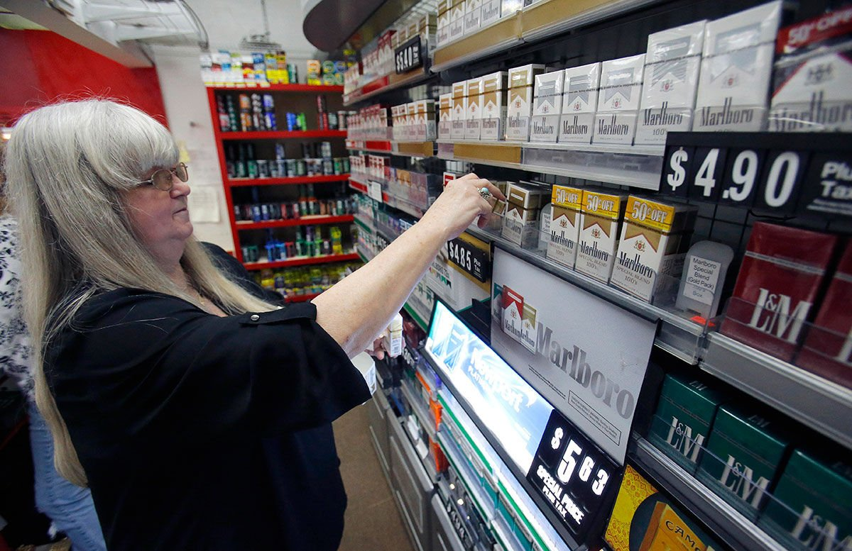 How much do New Zealand cigarettes Marlboro cost