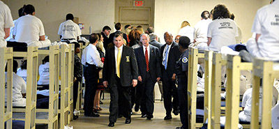 Alabama Gov. Robert Bentley visits Julia Tutwiler Prison for women