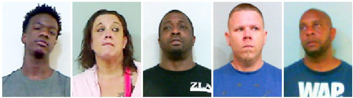 5 arrested on drug charges this week in Talladega County