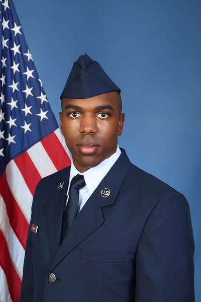 U.S. Air Force Airman Erin M. Leonard