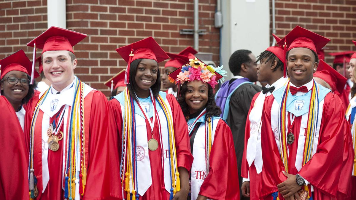 Scenes from Talladega High School's 2018 graduation ceremony (photo gallery)