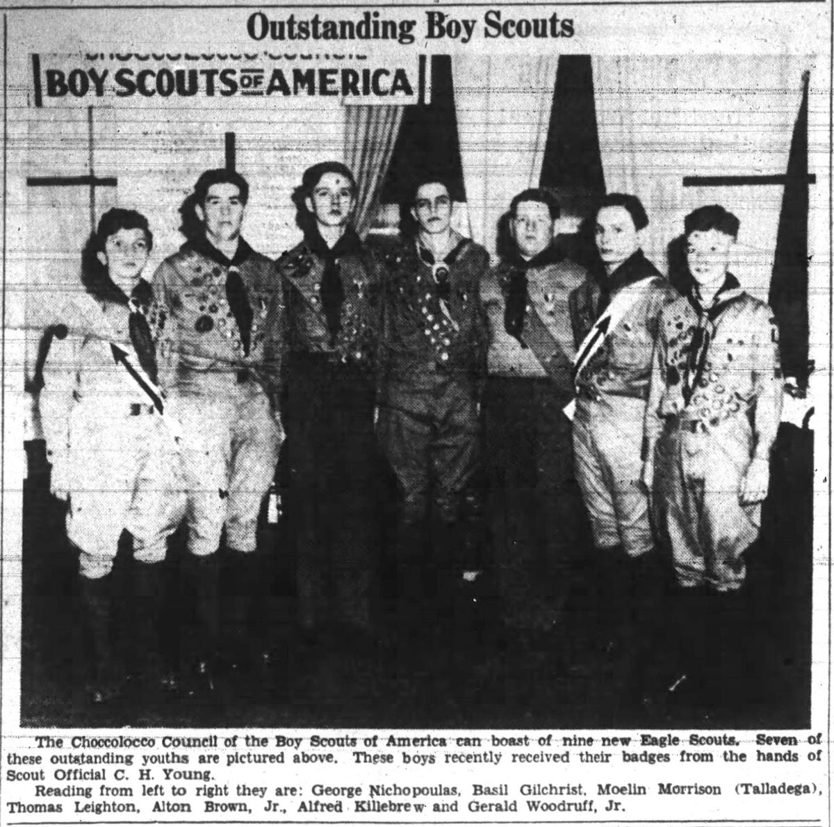 Scouts in 1943
