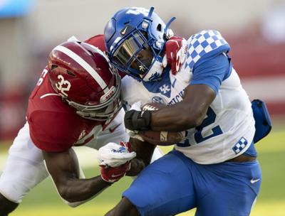 NCAA Football: Kentucky at Alabama