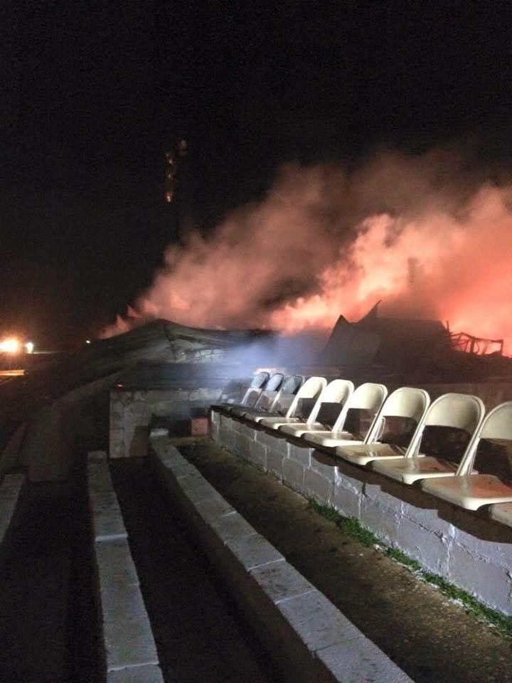 Talladega Short Track fire