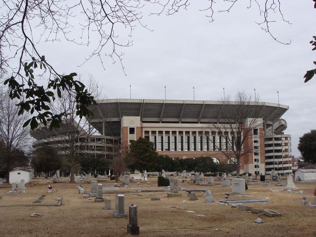 Evergreen Cemetery in Tuscaloosa