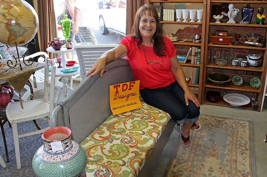 Virginia-born Carolyn Freeman sells antiques
