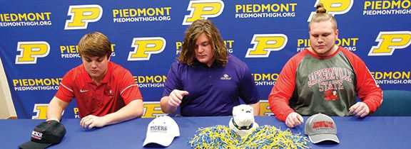 Piedmont trio sign on dotted line