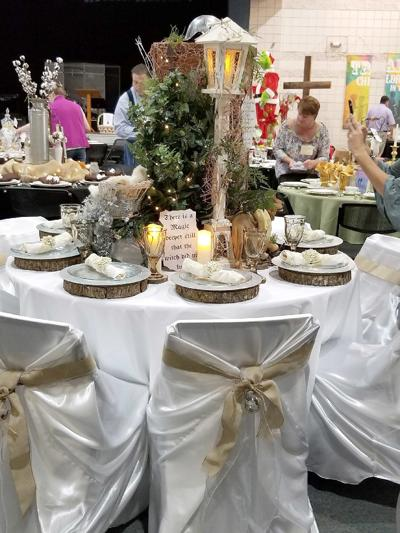 Lakeside Hospice Tablescapes
