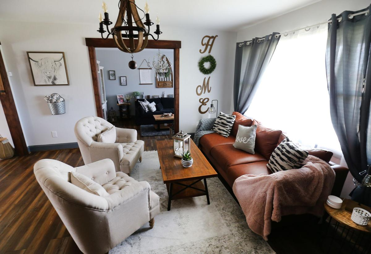 McCastle home living room
