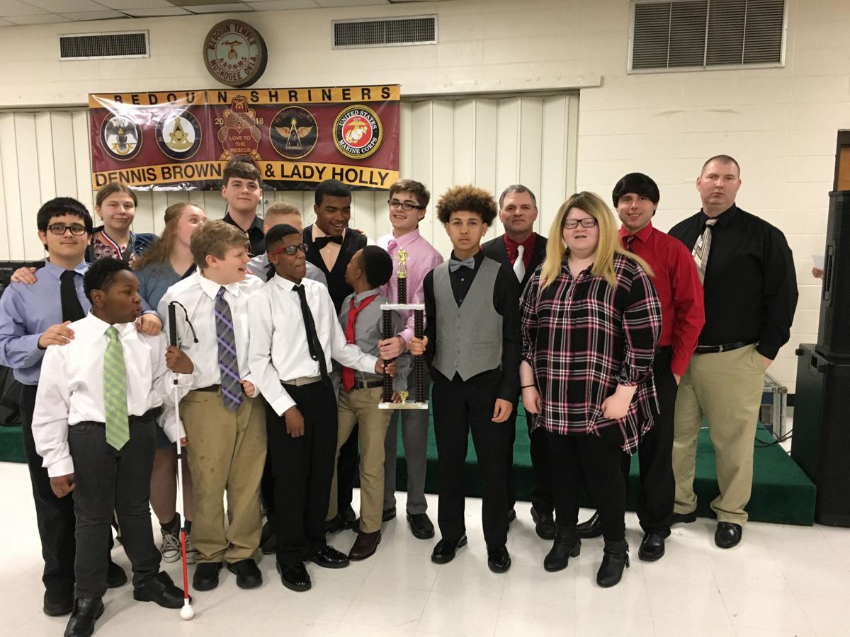 SCORE! Congrats ... Alabama School for the Blind wrestling team