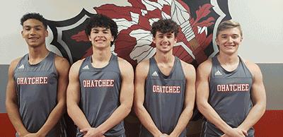 Ohatchee 4x200 relay team