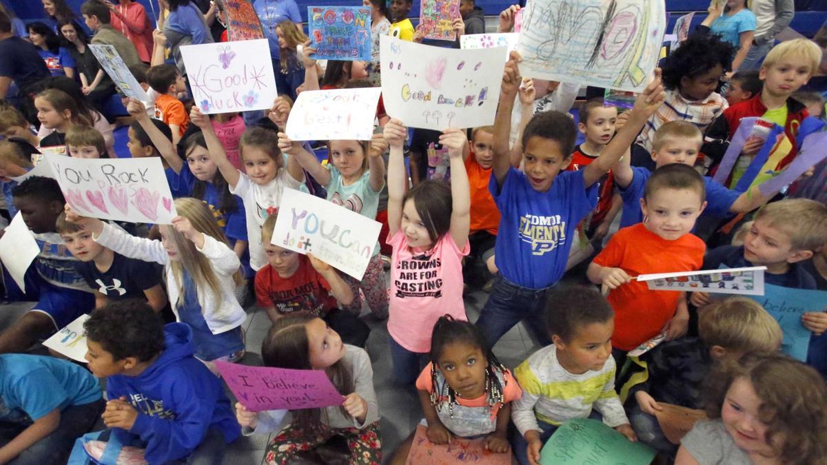 Piedmont Elementary School Academic Pep Rally