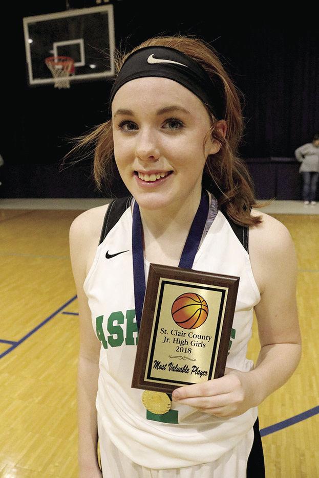 MVP Kathleen McCarthy