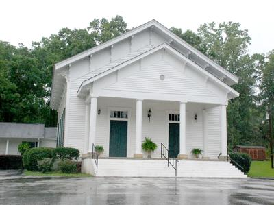 Alpine Baptist Church recognized by state historical commission