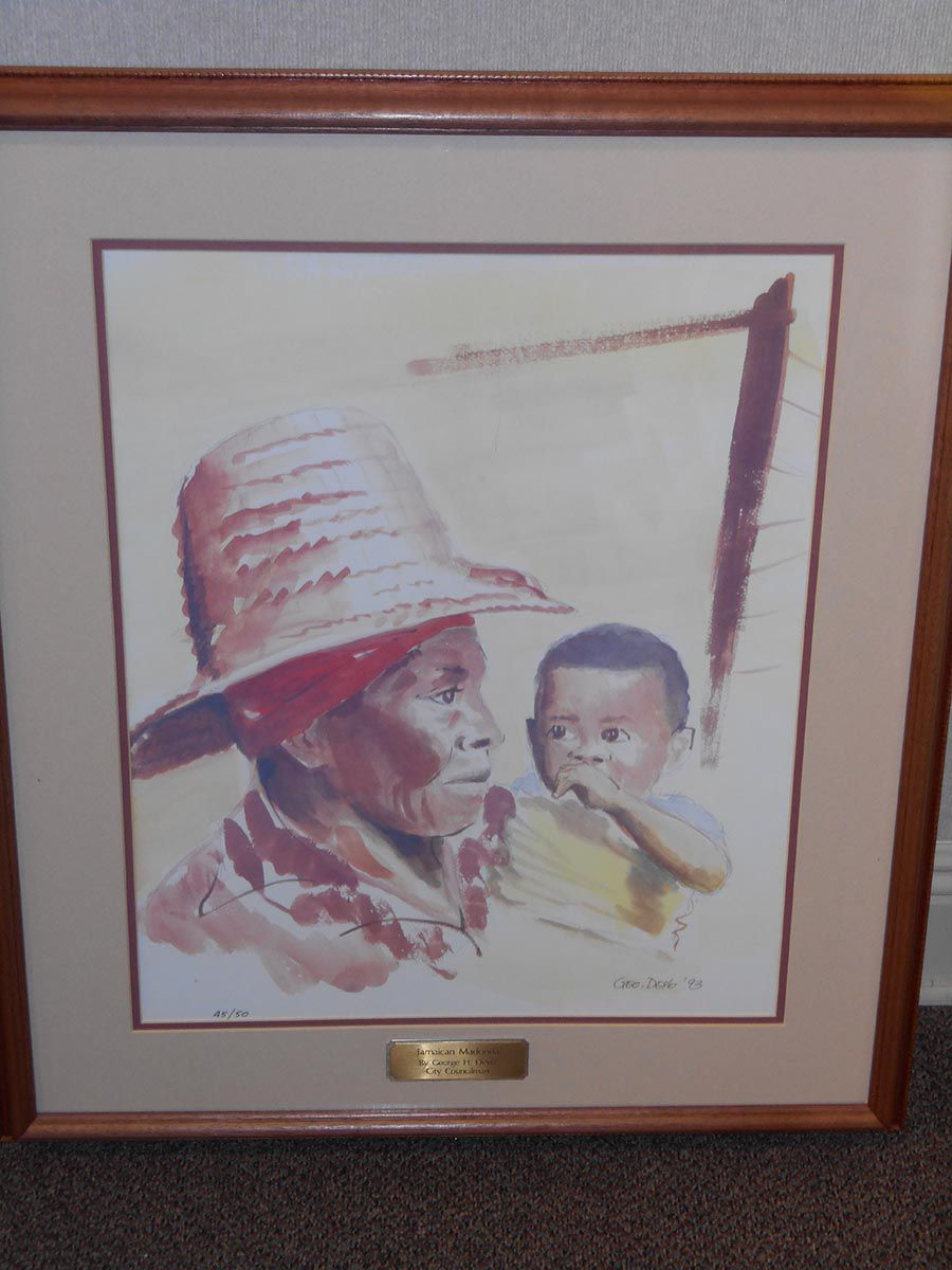 """""""Jamaican Madonna"""" by the late George Deyo"""
