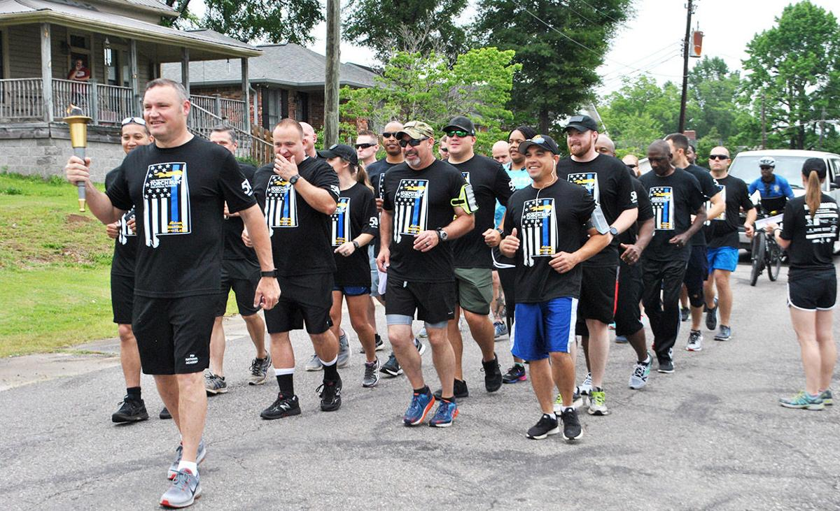 Pell City police, other law enforcement officials take part in Torch Run