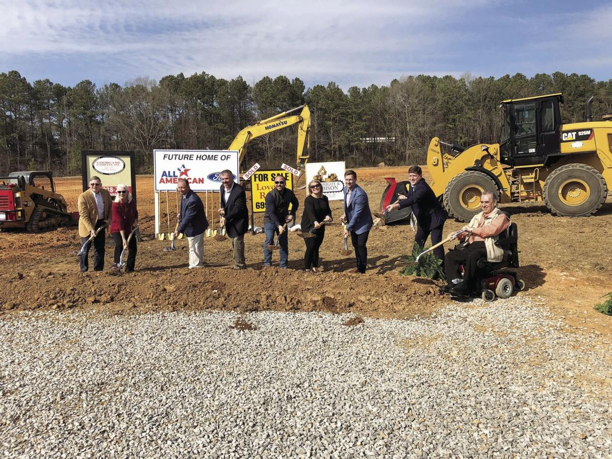 All American Ford dealership breaks ground in Odenville