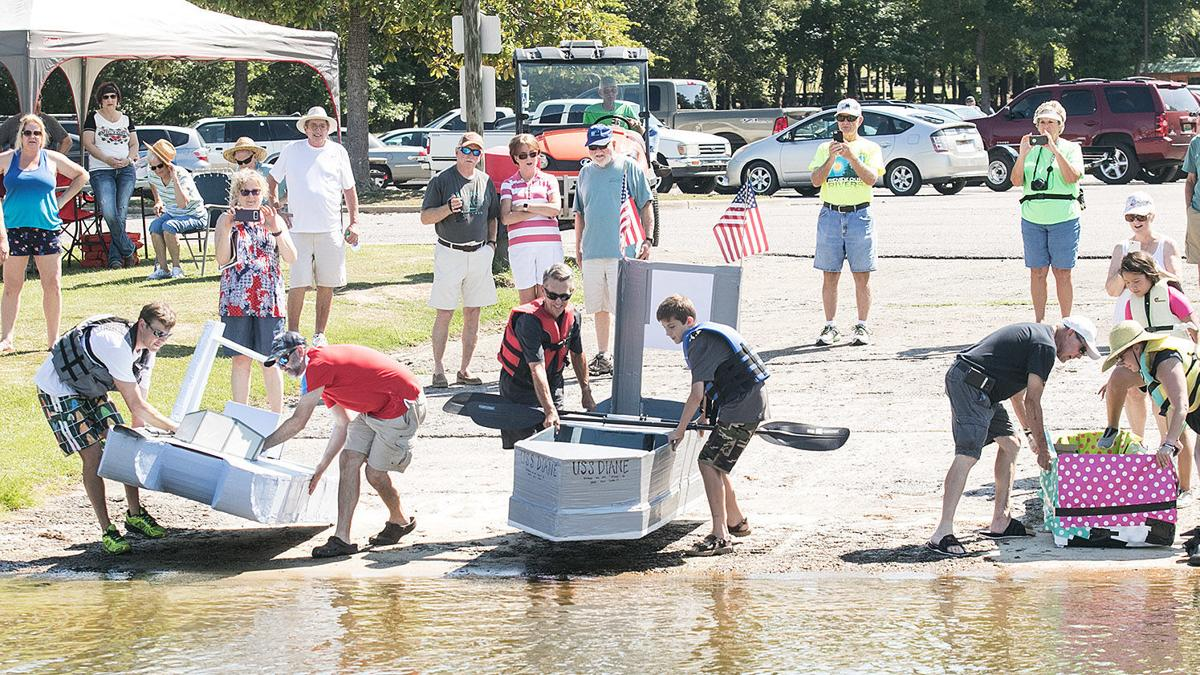 Cardboard Boat Regatta at Pell City's Lakeside Park 2018 (photo gallery)