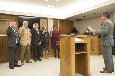New Talladega City BOE sworn in