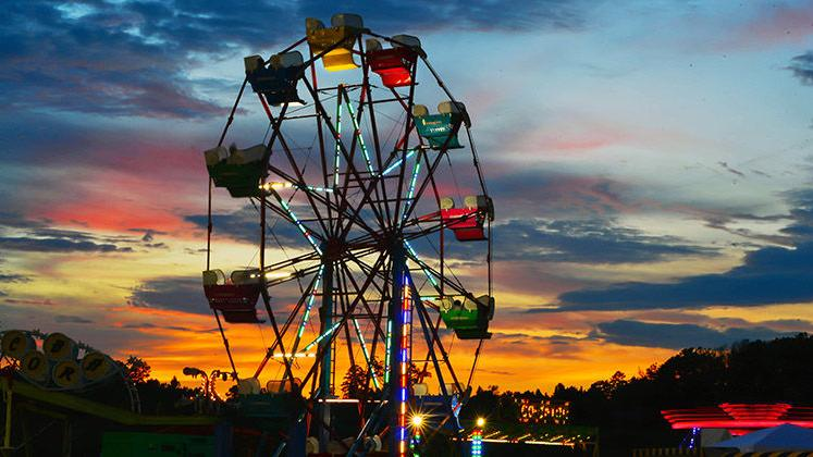Cleburne County Fair Opening Night