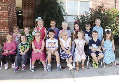 Several sets of twins at Odenville Elementary