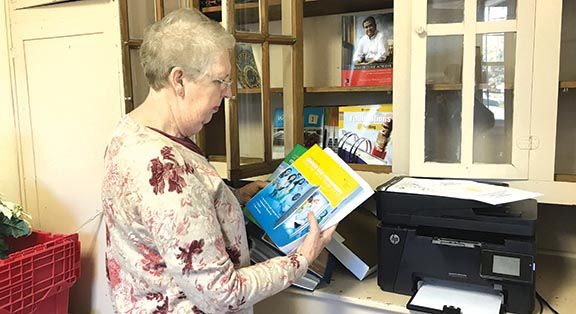 Former elementary school teacher now helps adults