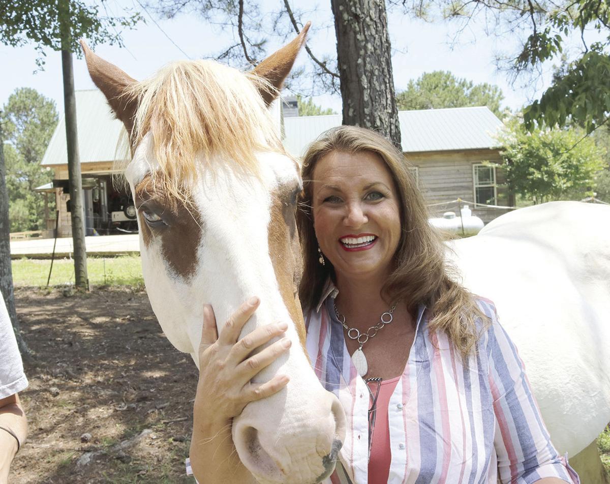 Kim Turner loves her horses