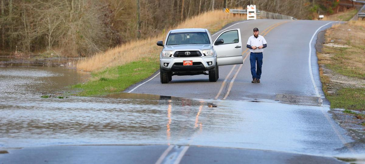 Minor flooding reported in county; more showers expected Friday