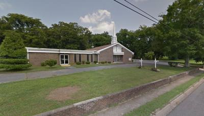Jacobs Chapel C.M.E. Church in Talladega